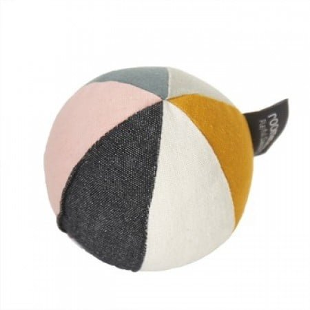 Roommate Canvas ball with bell – sea gre